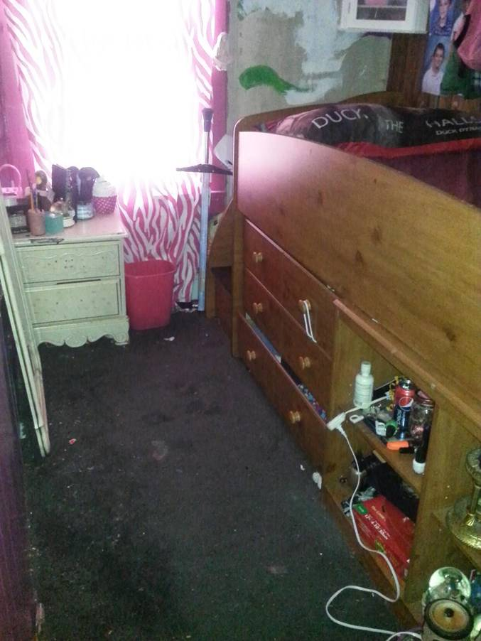 Brooke's room- before